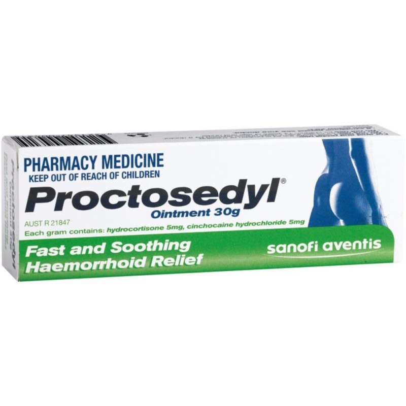Buy Proctosedyl Ointment 30g Singapore