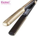 Professional Ceramic Hair Straightener Iron Hairstyling Flat Iron Straightening Ideal For Saloon Gold Intl Extreme G Discount