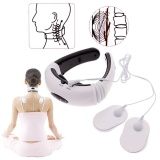 Purchase Professional Pro Electric Wire Health Pulse Neck Body Care Cervical Acupuncture Meridian Therapy Magnetic Effect Massager Intl Online