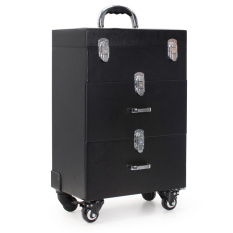 Store Large Capacity Multi Tier Carry On Cosmetic Box Oem On China