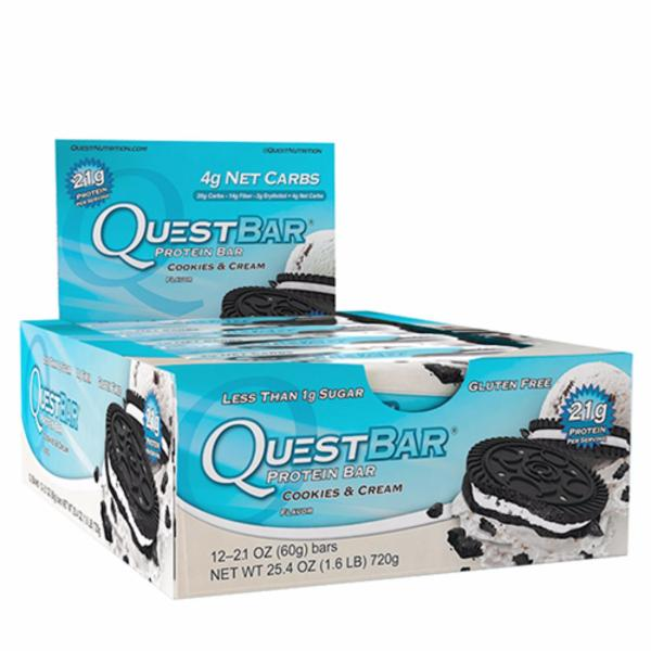 Quest Bar - Cookies and Cream (Box of 12)