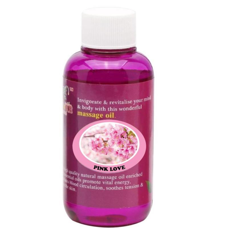 Buy Pure™ Massage Oil 120ml (Pink Love) Singapore
