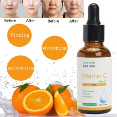 Pure Vitamin C Hyaluronic Acid Serum 20% For Face Best Anti Aging 30 Ml - Intl By Freebang.