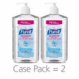 Purell Advanced Instant Hand Sanitizer 20 Fl Oz Pack Of 2 Sale