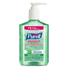 Deals For Purell Advanced With Aloe Instant Hand Sanitizer 8 Fl Oz