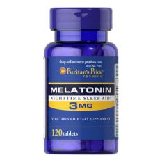 Puritans Pride Melatonin 3 Mg / 120 Tablets / Item 007903 By Jawstore Pte Ltd.