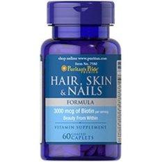Recent Puritan S Pride Hair Skin And Nails Formula 60 Caplets 007580