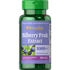 Puritan S Pride Bilberry 4 1 Extract 1000 Mg 90 Softgels Item 001434 Lower Price