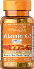 Cheapest Puritan S Pride Vitamin K 2 Menaq7 50 Mcg 30 Softgels Item 017875 Online