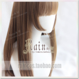 Discount Rain Yu Xuan Hime Sideburns Ji Hair Style Air Bangs Princess Daily Big Scalp Simulation Wig Oem