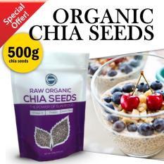 Compare Raw Organic Chia Seeds 500G Prices