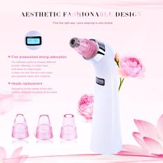 Sale Rechargeable Portable F*c**l Blackhead Acne Removal Comedo Suction Beauty Device With 4 Replaceable Heads Mr131W Intl Online On China
