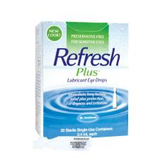Refresh Plus Lubricant Eye Drops 30 S Compare Prices