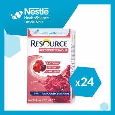 Cheapest Resource® Fruit Beverage Liquid Wildberry 237Ml X 24 Online