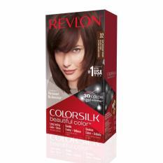 New Revlon® Colorsilk Beautiful Color™ 32 Dark Mahogany Brown New Packaging