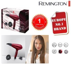 Remington Salon Silk Hair Dryer Ac9096 With 2400W Powerful Ac Motor 140 Km H Fast Air Velocity Ionic Conditioning For Sale
