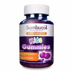 Latest Sambucol Kids Immunity Gummies 50 Gummies