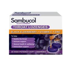 Sambucol Throat Lozenges 20 Lozenges By Watsons.