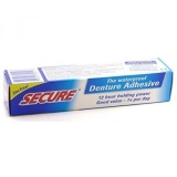 Secure Denture Waterproof Adhesive 1 40 Oz Pack Of 2 Intl Price