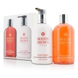 Great Deal Molton Brown Sensual Hanaleni Bath Body Set Bath Shower Gel 300Ml 10Oz Nourishing Body Lotion 300Ml 10Oz 2Pcs