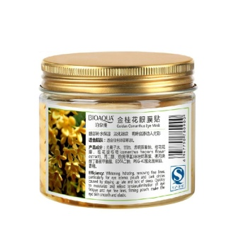 shangqing Natural Essence Extraction Osmanthus Moisturizing Eye Mask Eye Zone Pad Patches Mask Anti-Aging Wrinkle Care for Men Women 80 Pcs/Box