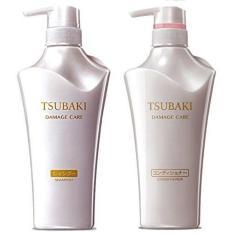 Best Shiseido Value Set Tsubaki Shampoo Conditioner Damage Care 500Ml