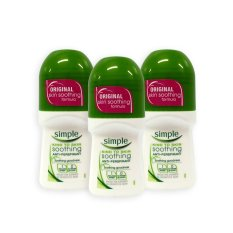 How Do I Get Simple Original Soothing Goodness Anti Perspirant Roll On 50Ml X 3 Bottles 4483
