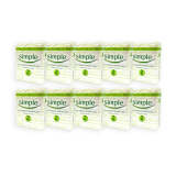 Brand New Pack Of 10 Simple Sensitive Skin Pure Soap 125G X 2 1068