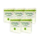 Buy Pack Of 5 Simple Sensitive Skin Pure Soap 125G X 2 1068 Online