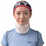 How To Buy Small Neck Cervical Traction Collar Device Brace Support Hard Plastic For Headache Shoulder Neck Pain Hight Adjustable Intl