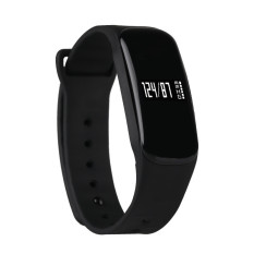 Coupon Smart Bracelet Intelligent Blood Pressure Monitors Black Intl