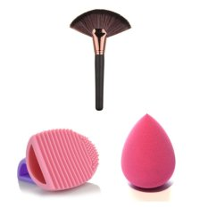 Sales Price Soft Makeup Brushes Professional Cosmetic Make Up Brush Tool And Brush Egg And Powder Puff Huge Gift Intl