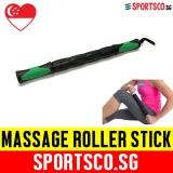 Compare Prices For Sportsco Massage Stick Roller Black Green Sg
