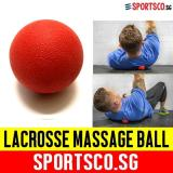 Buy Sportsco Silica Lacrosse Massage Ball Red Sg