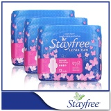 Discounted Stayfree Sanitary Napkins Ultra Thin Super Cottony Soft X 12 Pcs X 3 Packs