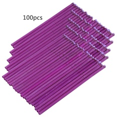 Brand New Straight Style Ear Candle Candling Therapy Healthy Care 100Pcs Lavender Fragrance Purple Intl