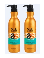 Low Price Style Aromatherapy Dead Sea Moroccan Argan Shampoo 750Ml X 2