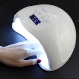 Great Deal Sun5 Plus 48W Dual Uv Led Nail Lamp Nail Dryer Gel Polish Curing Light With Bottom 30S 60S 99S Timer Lcd Display Intl