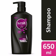 Get The Best Price For Sunsilk Co Creations Black Shine Shampoo 650Ml