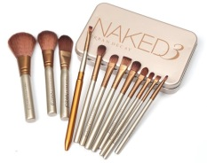 Superlady Makeup Brushes 12 Pcs New Nake 3 Brush Nk3 Makeup Brush Kit Sets For Eyeshadow Blusher Cosmetic Brushes Tool Coupon Code