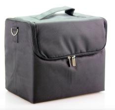 Where Can You Buy Superlady Professional Makeup Box Make Up Bag Make Up Case Black Color Intl
