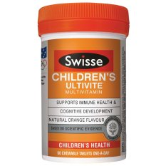 Swisse Children S Ultivite 60 Chewable Tablets Shopping