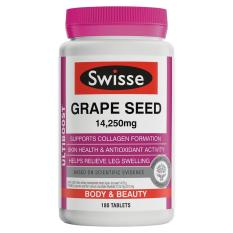 Price Compare Swisse Ultiboost Grape Seed 14 250Mg 180 Tablets