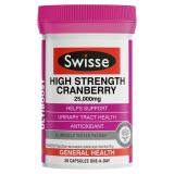 Price Swisse Ultiboost High Strength Cranberry 25 000Mg 30 Capsules On Singapore