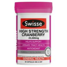 List Price Swisse Ultiboost High Strength Cranberry 25 000Mg 30 Capsules Swisse
