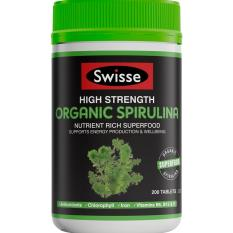 Great Deal Swisse Ultiboost High Strength Organic Spirulina 200 Tablets
