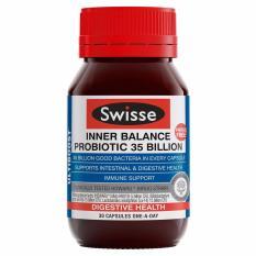 Low Price Swisse Ultiboost Inner Balance Probiotic 35 Billion 30 Capsulesrnrn