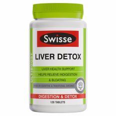 Price Comparisons For Swisse Ultiboost Liver Detox 120 Tablets