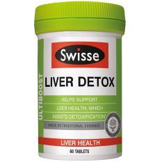 Store Swisse Ultiboost Liver Detox Supplement 60 Tablets Swisse On Singapore