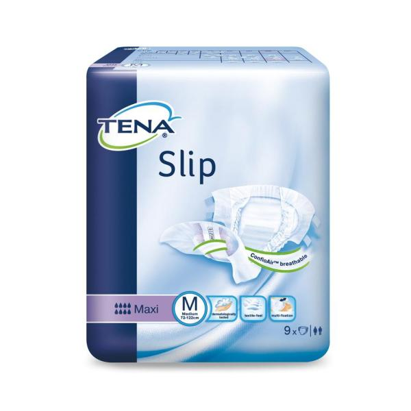 Buy Tena Slip Maxi All-in-one Adult Diapers M 9s Singapore